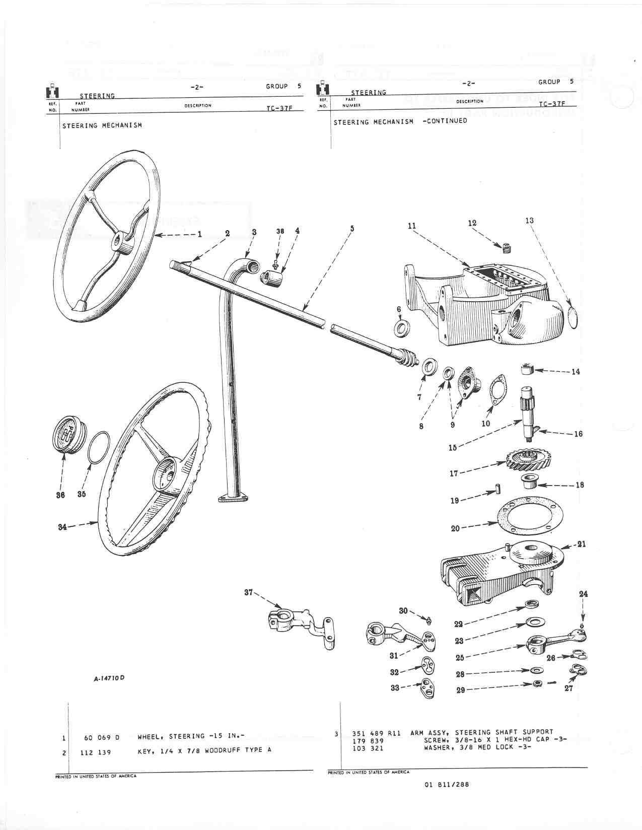 Farmall A Steering Parts : Farmall h parts diagram wiring images
