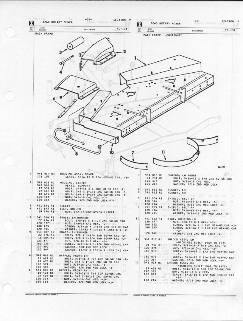 Ih 3260 Rotary Cutter