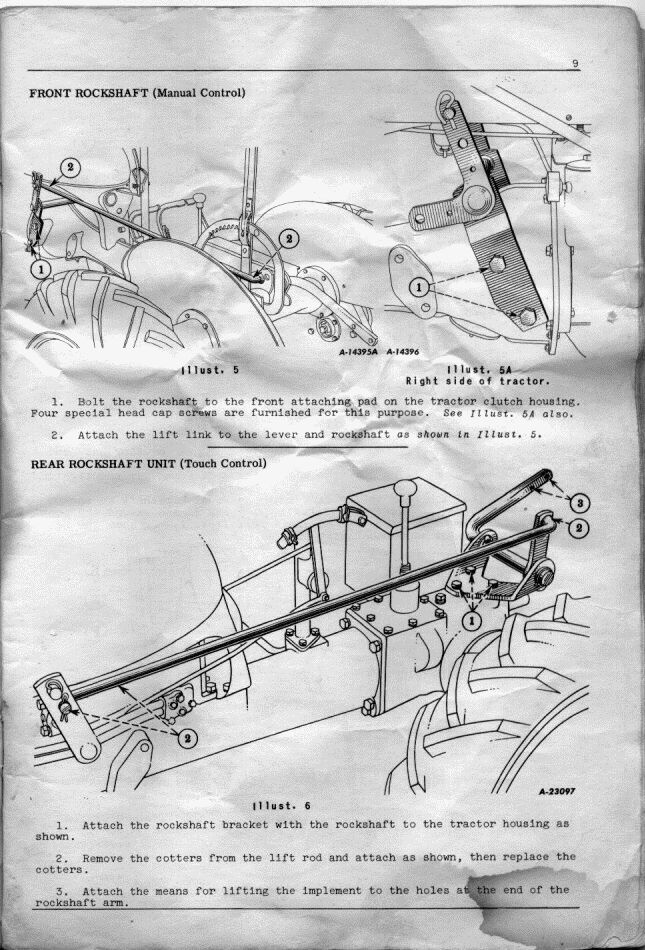 Page 09 farmall cub rear housing diagram wiring diagram online