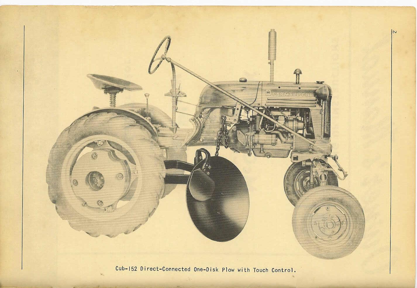 Niedlich 1950 Farmall Cub Schaltplan Fotos - Elektrische Schaltplan ...