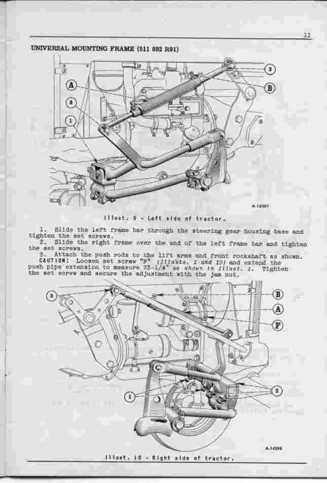 Farmall Cultivator Parts : Cub cultivator manual