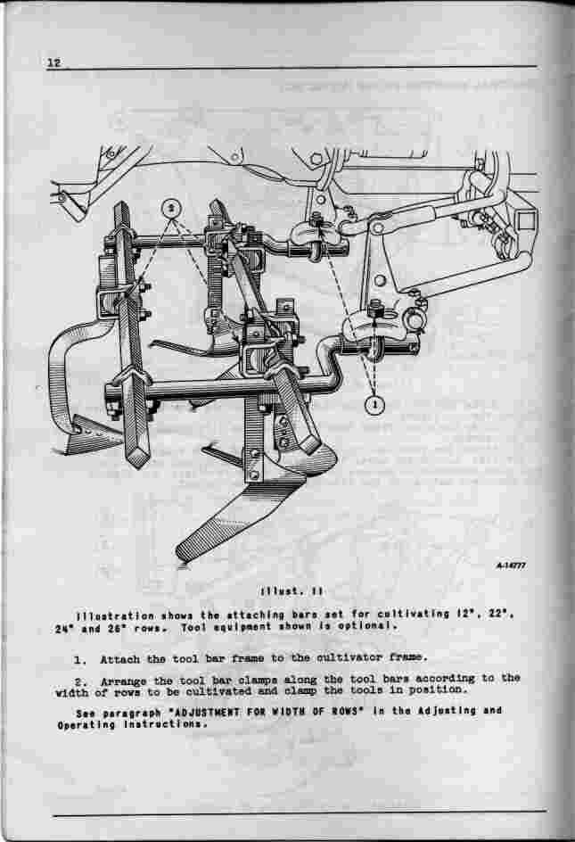 Cub-252 Cultivator Manual
