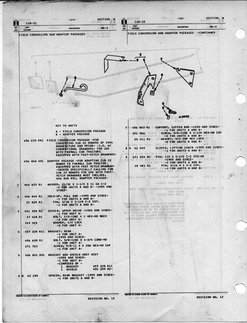 farmall cub wiring diagram for 1954 1954 farmall cub