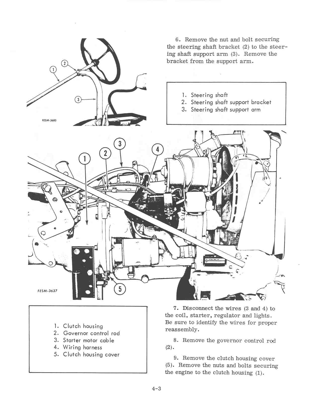 Section 4 Splitting And Recoupling The Tractor Farmall Cub Wiring Harness Page 04 01
