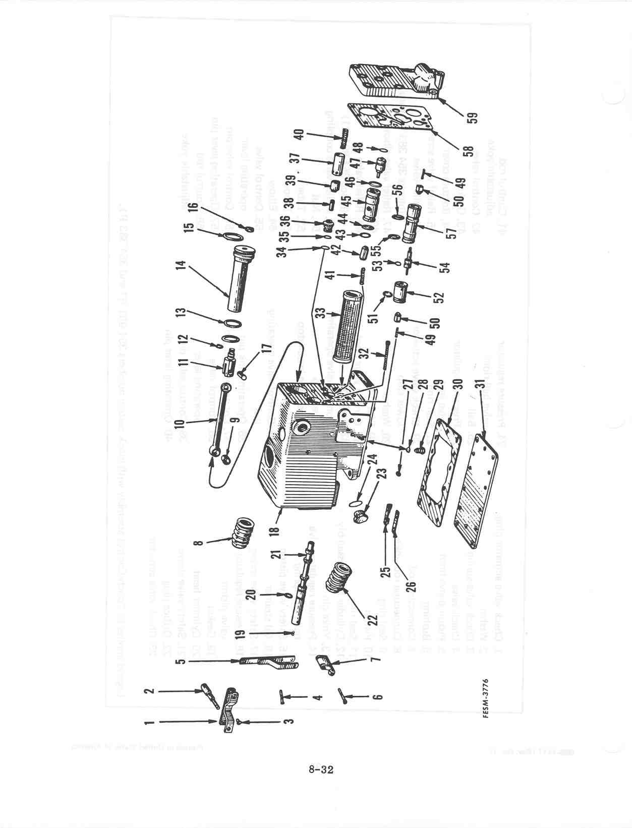 section 8 - hydraulic system touch-control  farmall cub